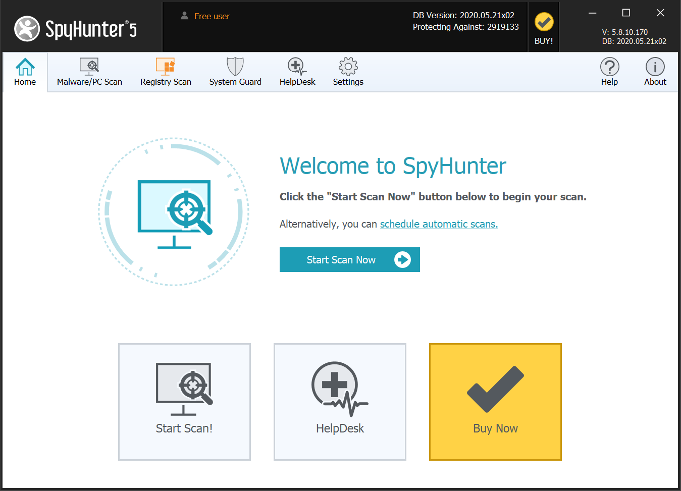 SpyHunter 5 Malware Removal Overview